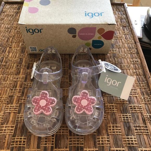 IGOR Other - IGOR Toddler Girls Transparent Shoes